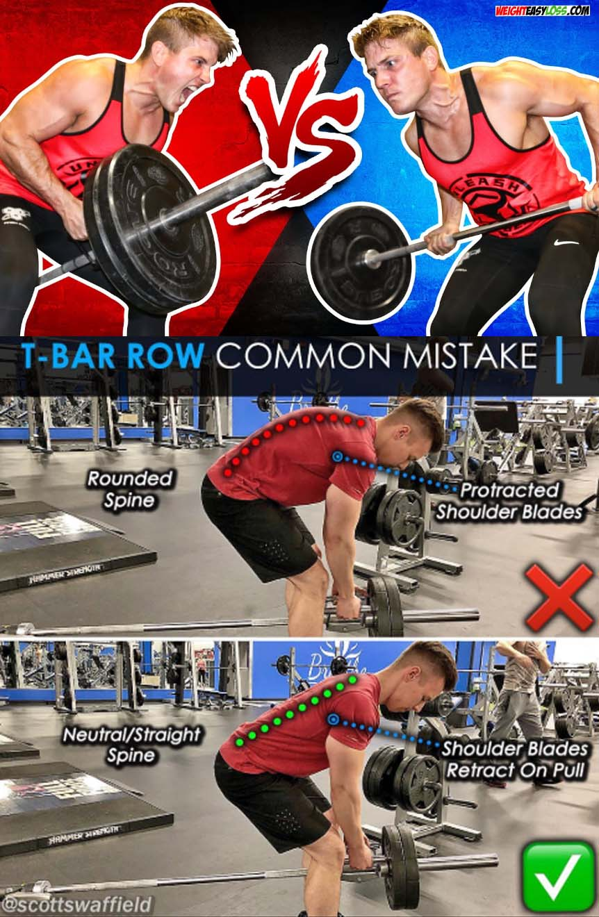 HOW TO T-BAR ROW