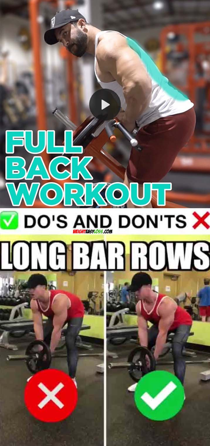 Long Bar Row