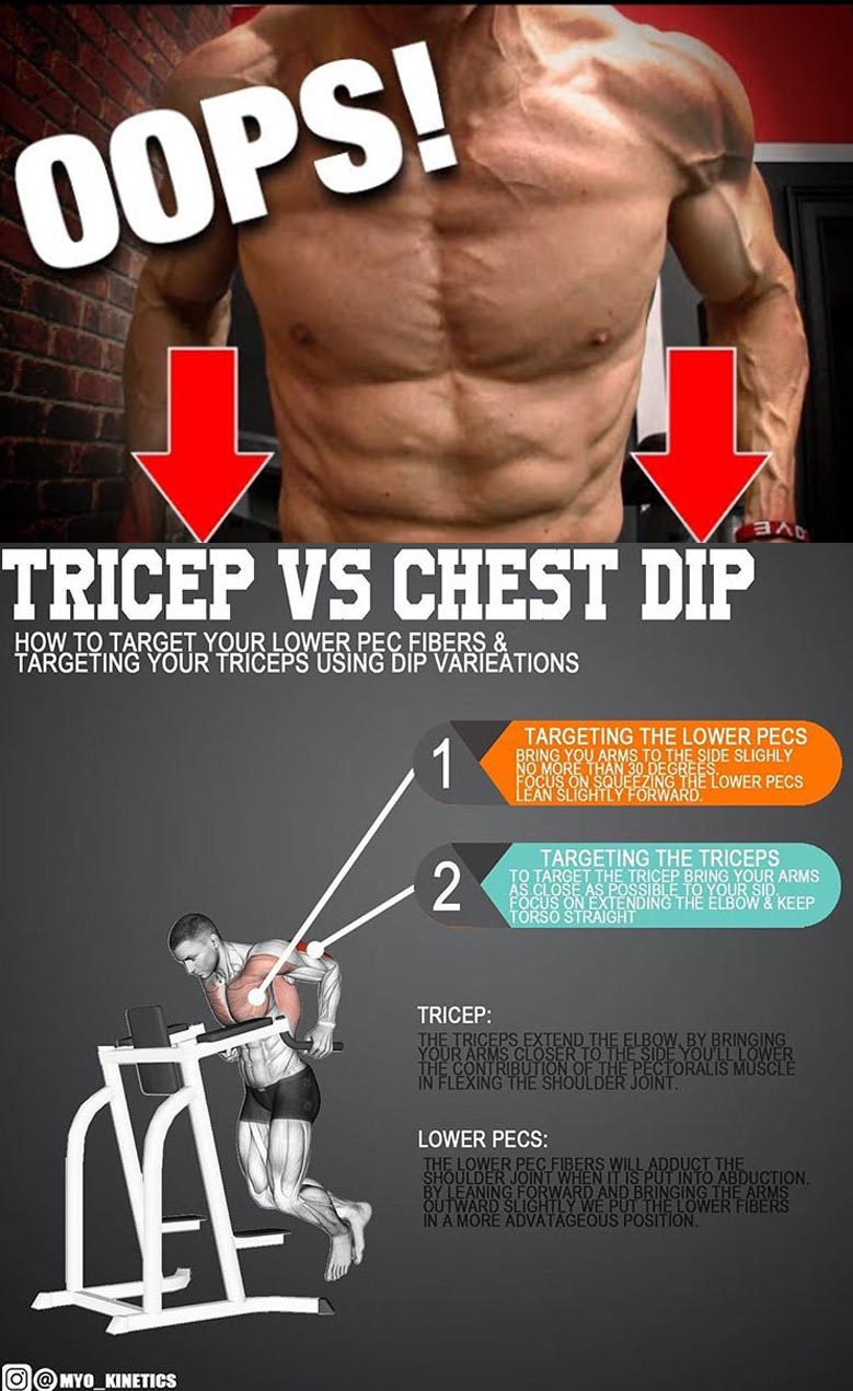Tricep & Chest Dips