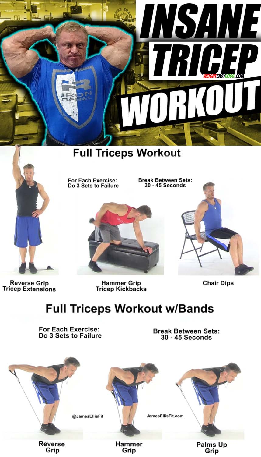 Full Trieps Workout