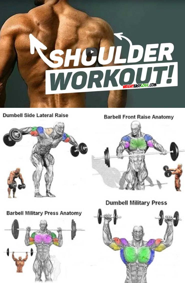 4 Shoulder Exercises