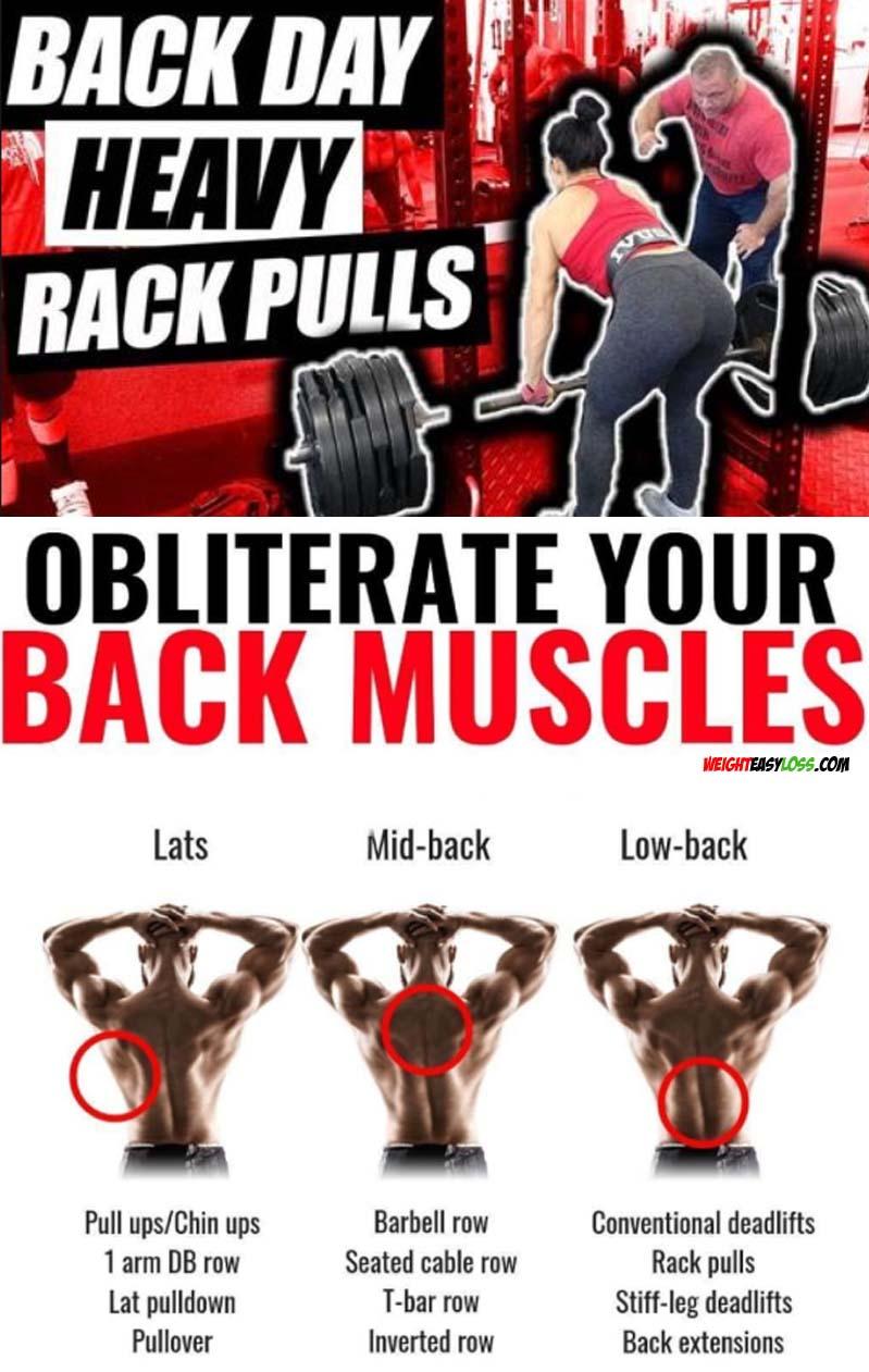 Back Day Heavy Rack Pull