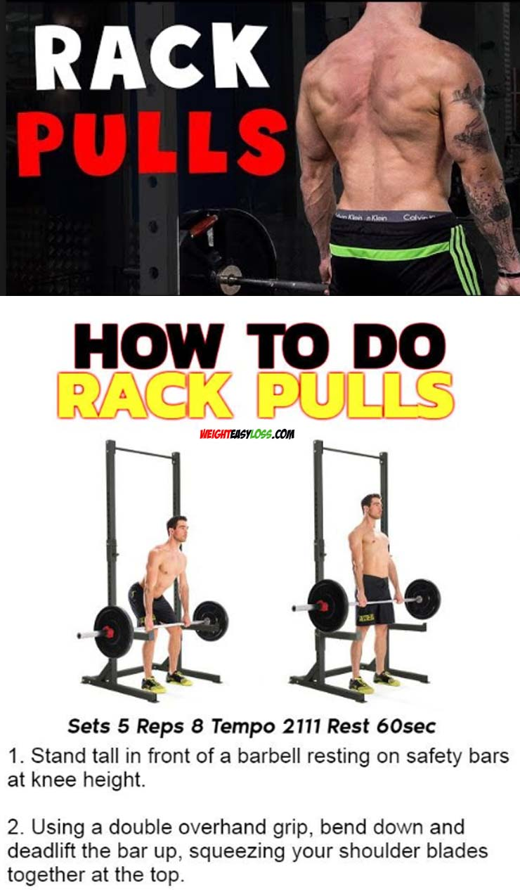 HOW TO DO RACK PULLS