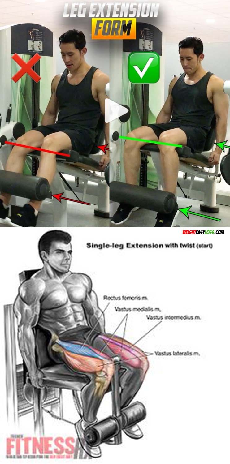 LEG EXTENSION FORM
