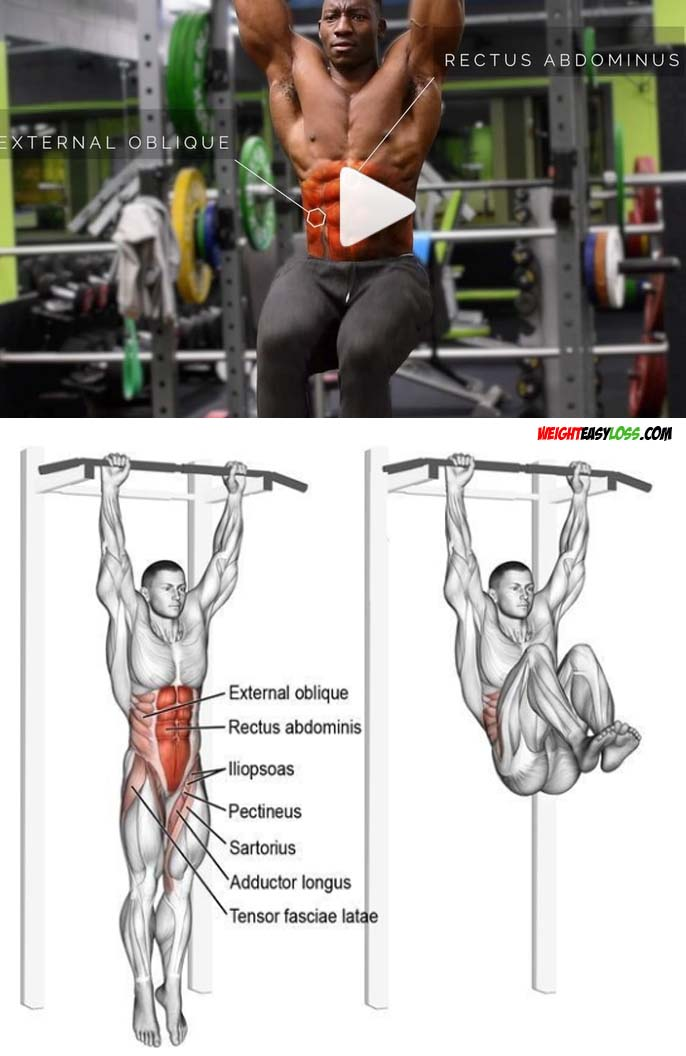 Knee-Ups for Abs