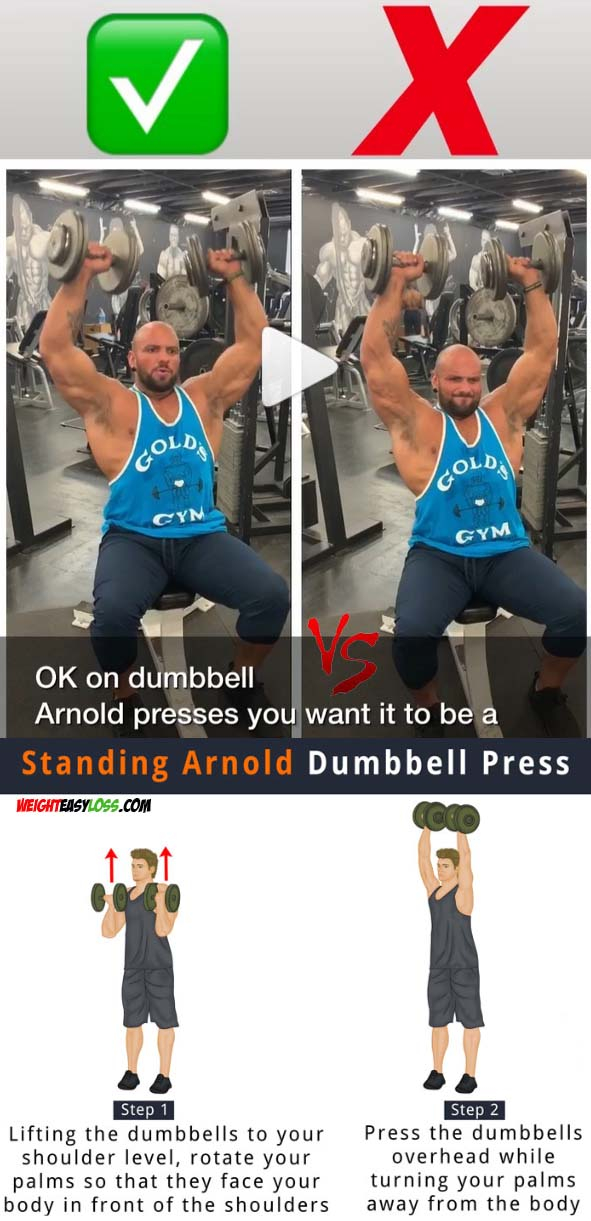 Arnold Dumbbell Press (Arnold Press)