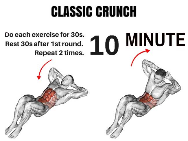 how to do classic crunch
