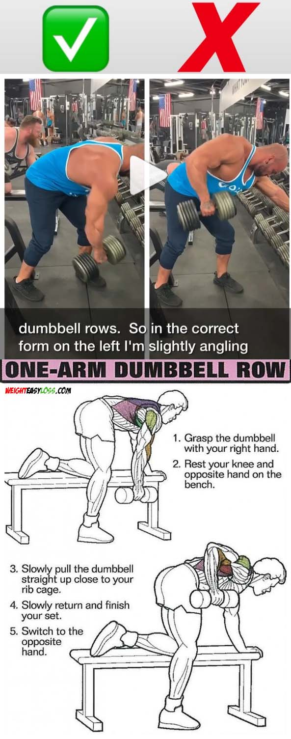 Dumbbell Row Guide