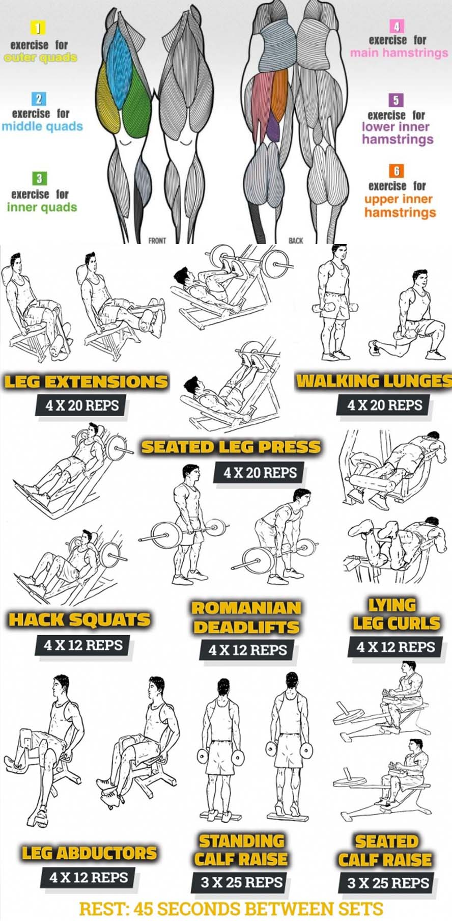 Leg Workout Tips