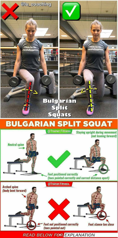 How to Bulgarian Split Squat