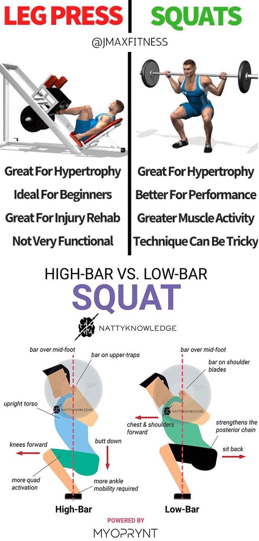 Squats & Legs Press