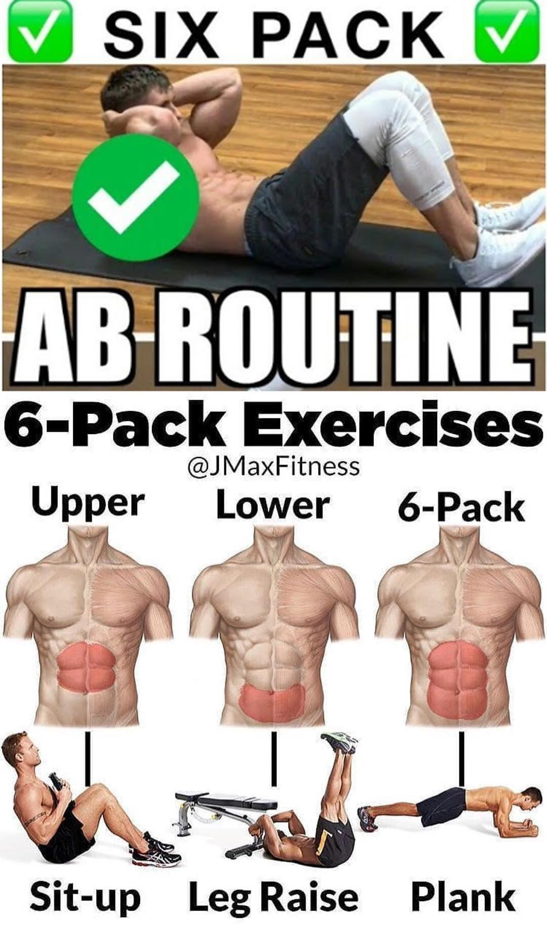 Six Pack Abdominal Routine
