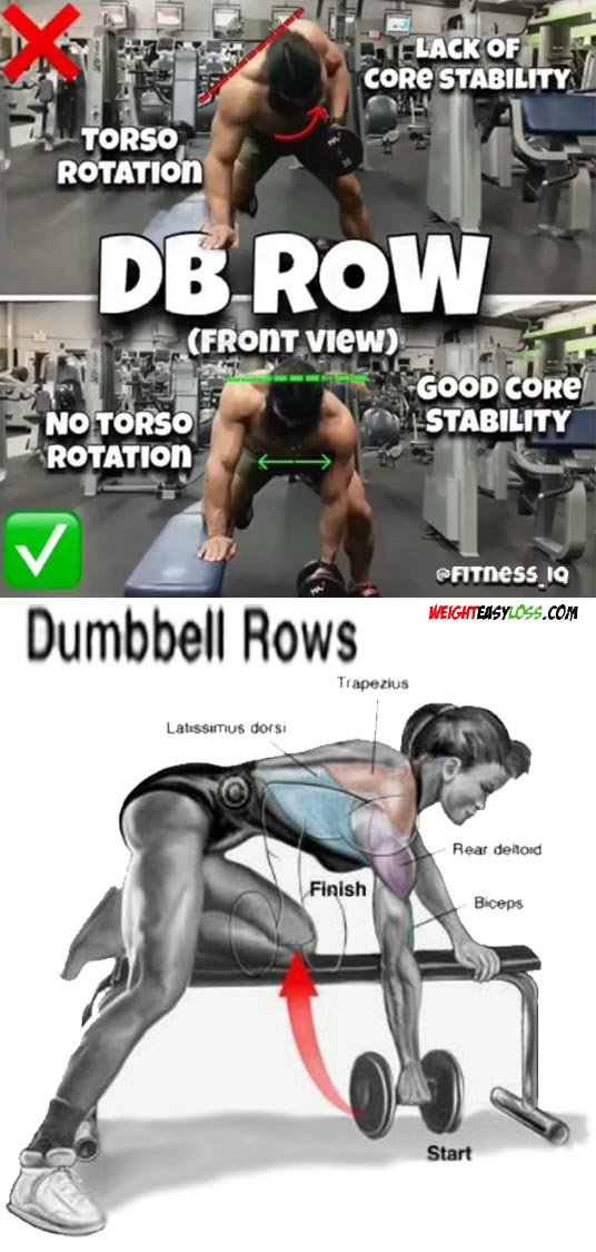 DB ROW WORKOUT