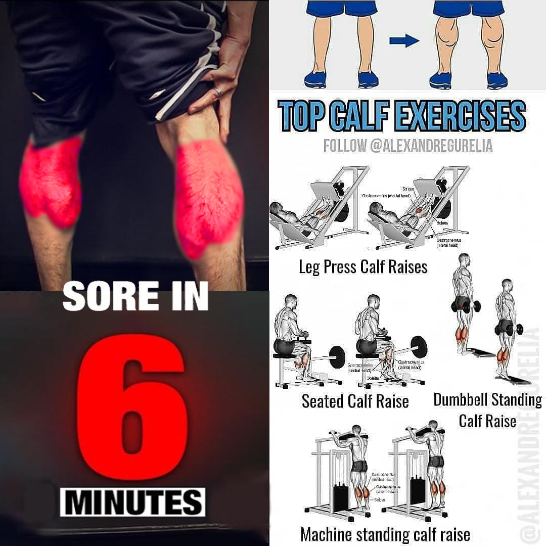 TOP 6 SCORE IN 6 MIN CALF EXERCISES