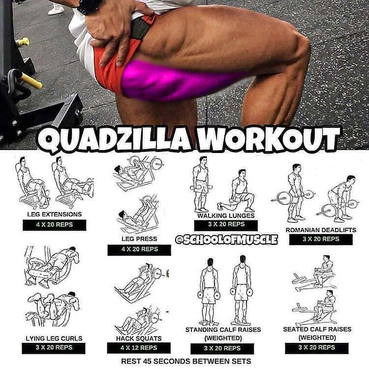 Glutes & Hams Workout