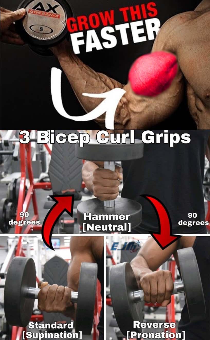 Biceps Curl Grips