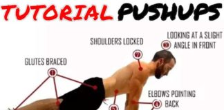 Tutorial Push-ups Exercises