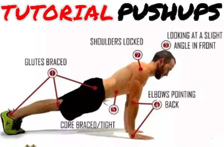 push ups exercises