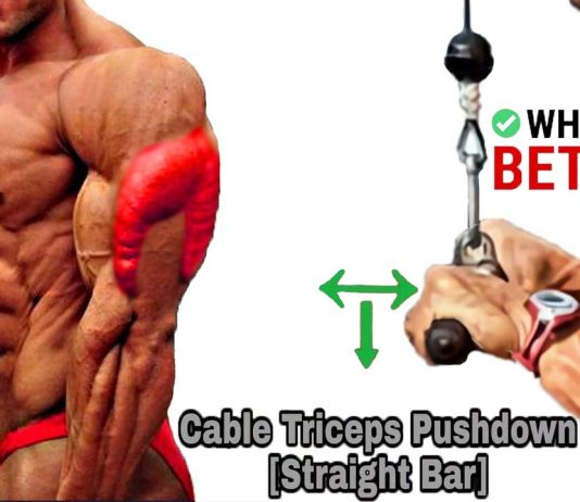 Cable Tricep Pushdown
