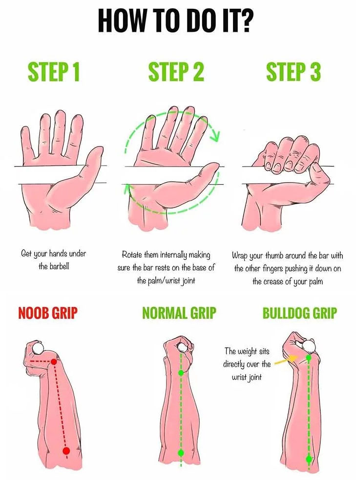 How to Do Bulldog grip