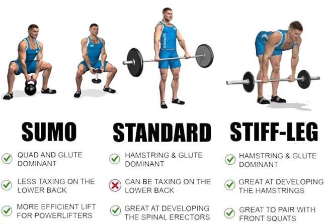 variation of deadlift workout