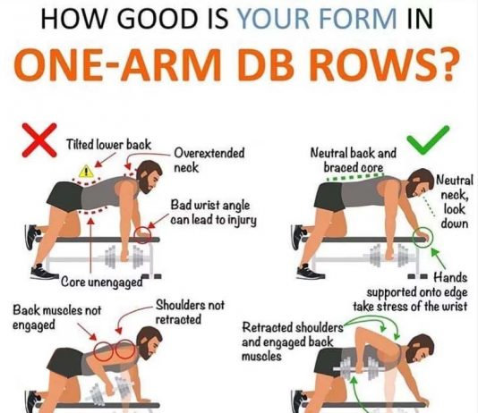 How to One-Arm Dumbbell Rows