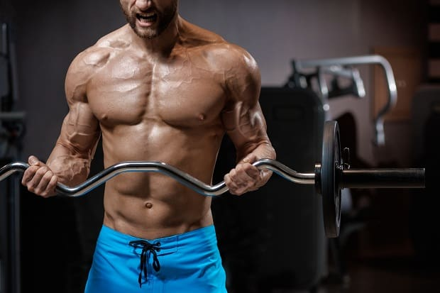 Curl barbell
