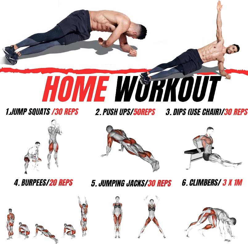 Bodyweight training that pumps all muscles