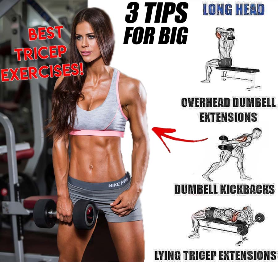 3 Tips for Big Triceps Exercises