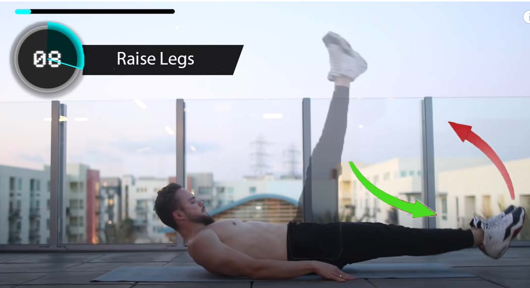 Abs pump with Raise legs