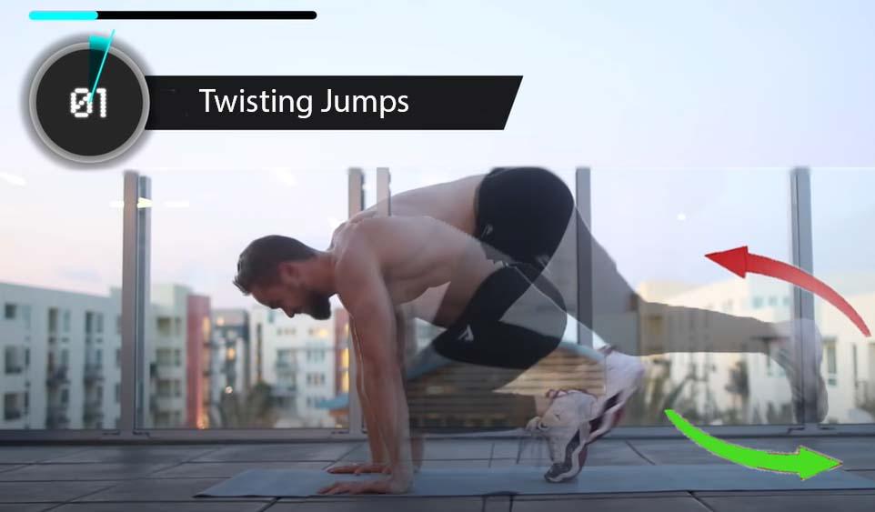 The Twisting Jump