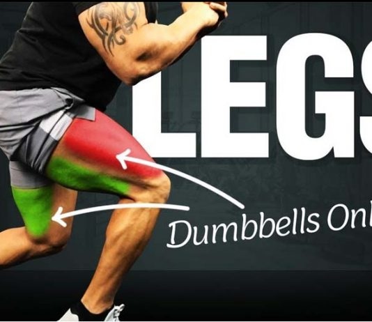 Legs with Dumbbells