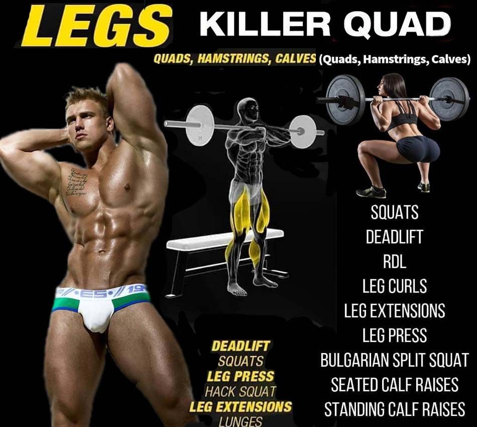 How to pump quadriceps