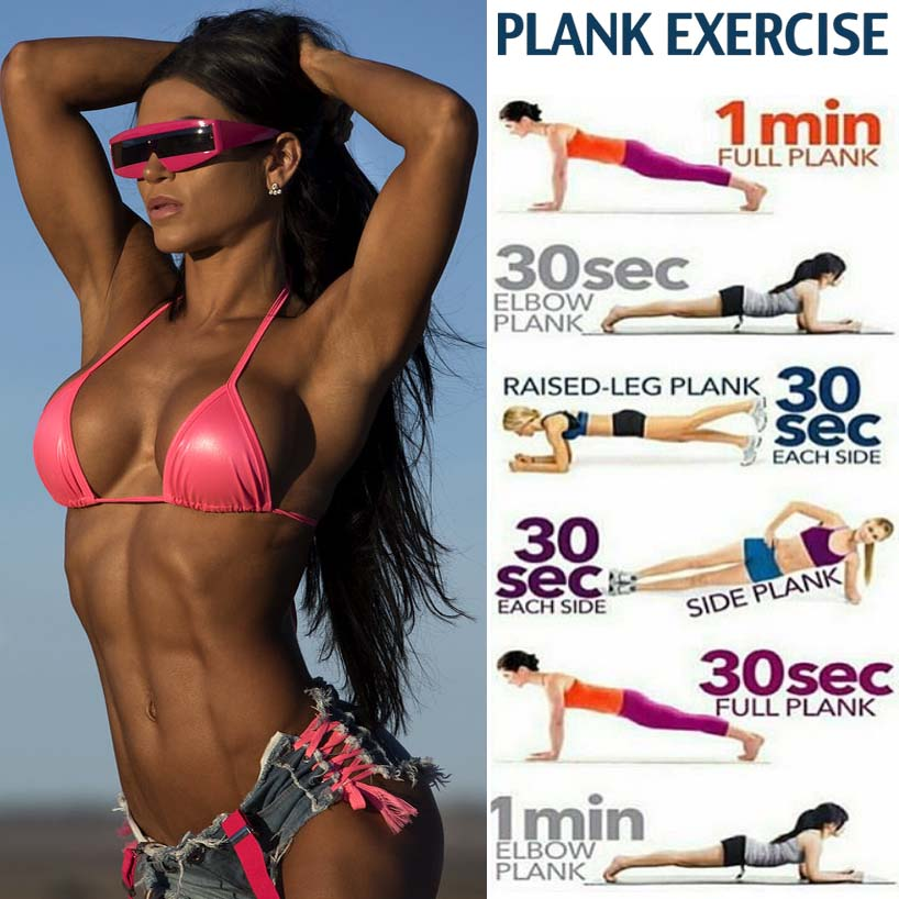 how to plank workout