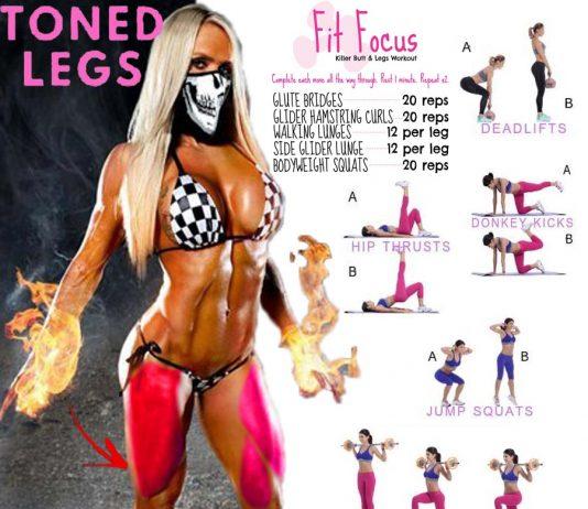 Toned Legs Exercises