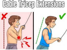 Cable Triceps Workout