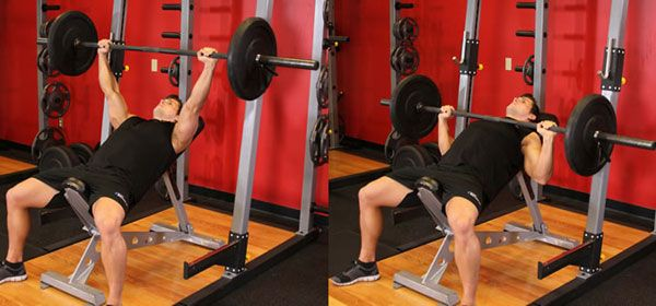 Incline Bench Press exercises