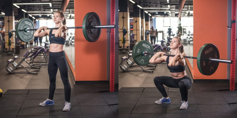 front squat exercises
