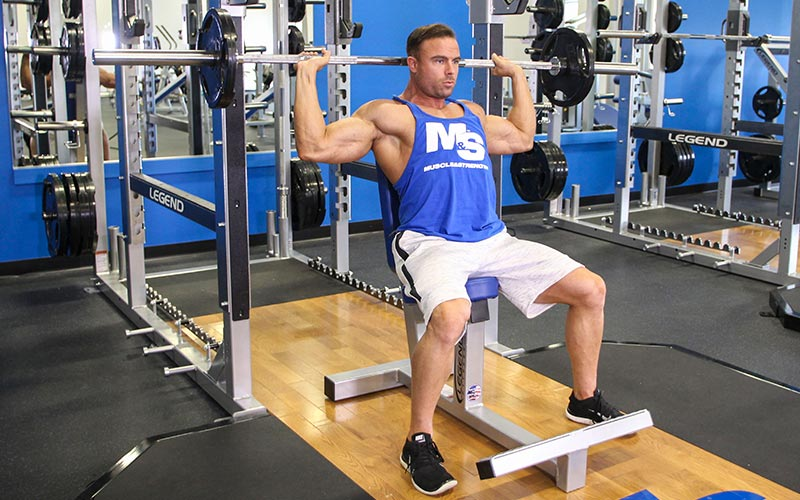 Bench Press Behind the Head