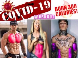 Home Workout When in the world Covid-19