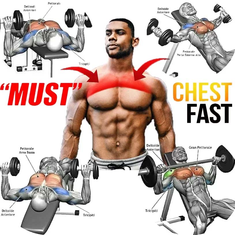 Correct Training Chest Mistakes for Best Grow Chest Muscles