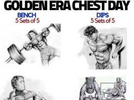 Arnold Schwarzenegger Chest Training