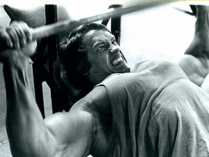 Training Arnold Schwarzenegger