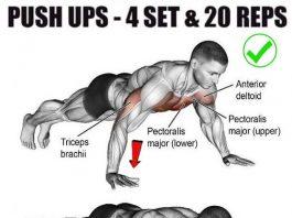 Classic Push ups Workout