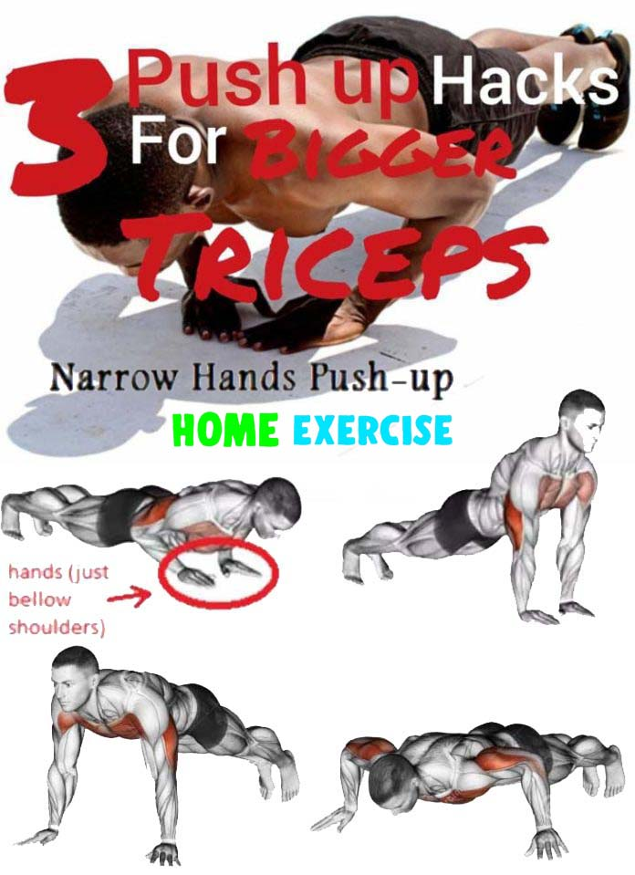 Triceps Exercises for Bigger Triceps