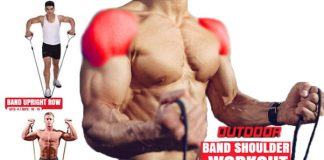 How to Do Top 5 Resistance Band Shoulder Exercises
