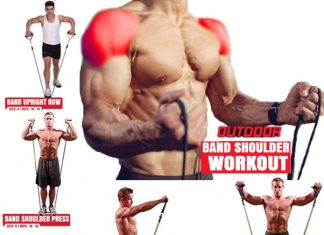 How to Do 5 Best Resistance Band Shoulder Exercises