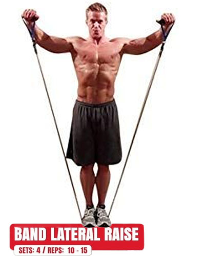 How to Band Lateral Raise