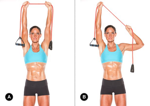 PULLDOWN WITH RESISTANCE BAND