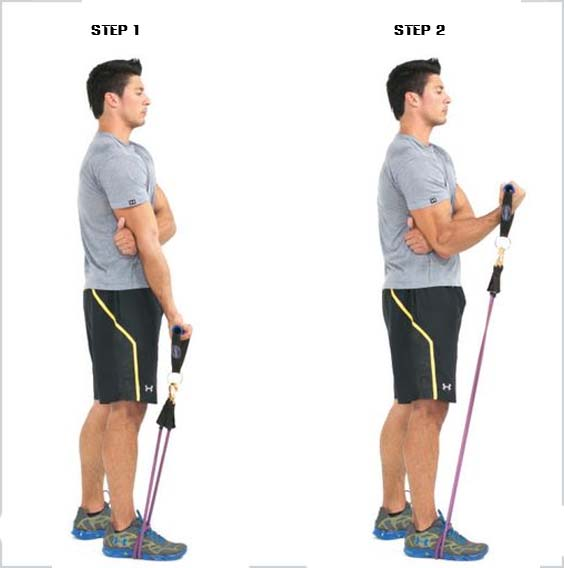 how to biceps curl